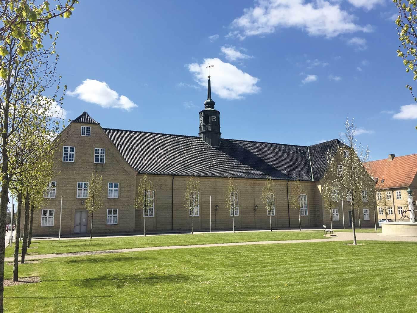 UNESCO verdensarv Christiansfeld med Rønshoved Højskole