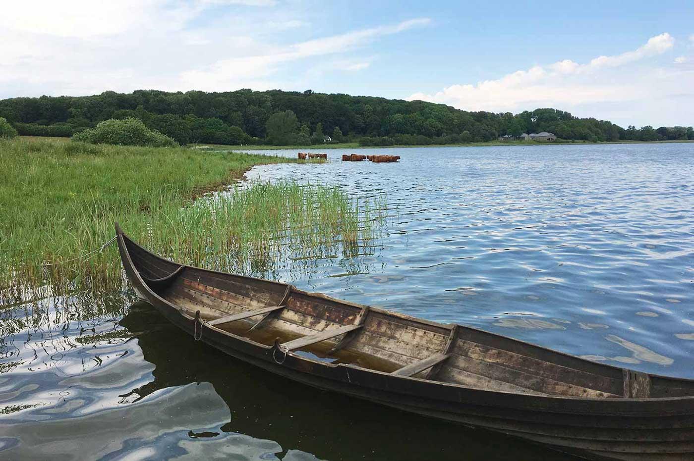Vikingeskib ved Hedeby
