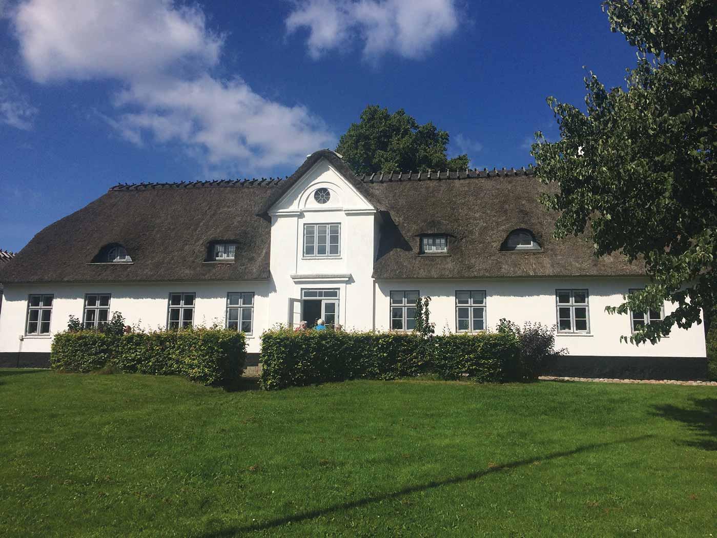 Asserballe præstegård - Herman Bangs fødehjem