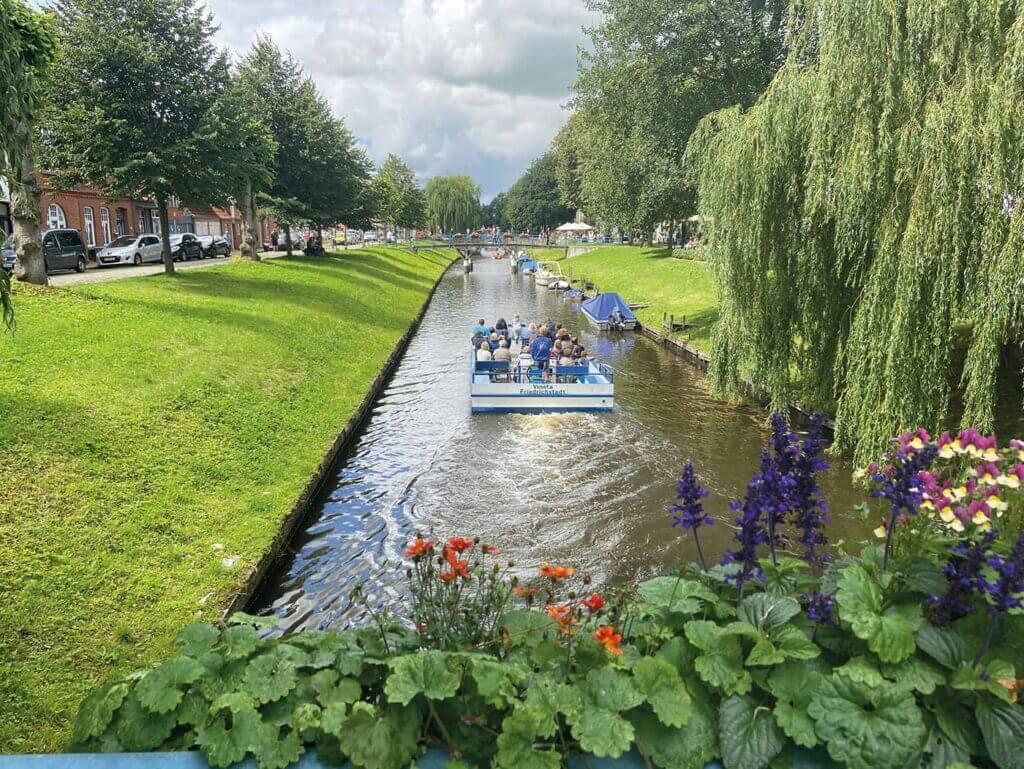 Kanalsejlads i Frederiksstad